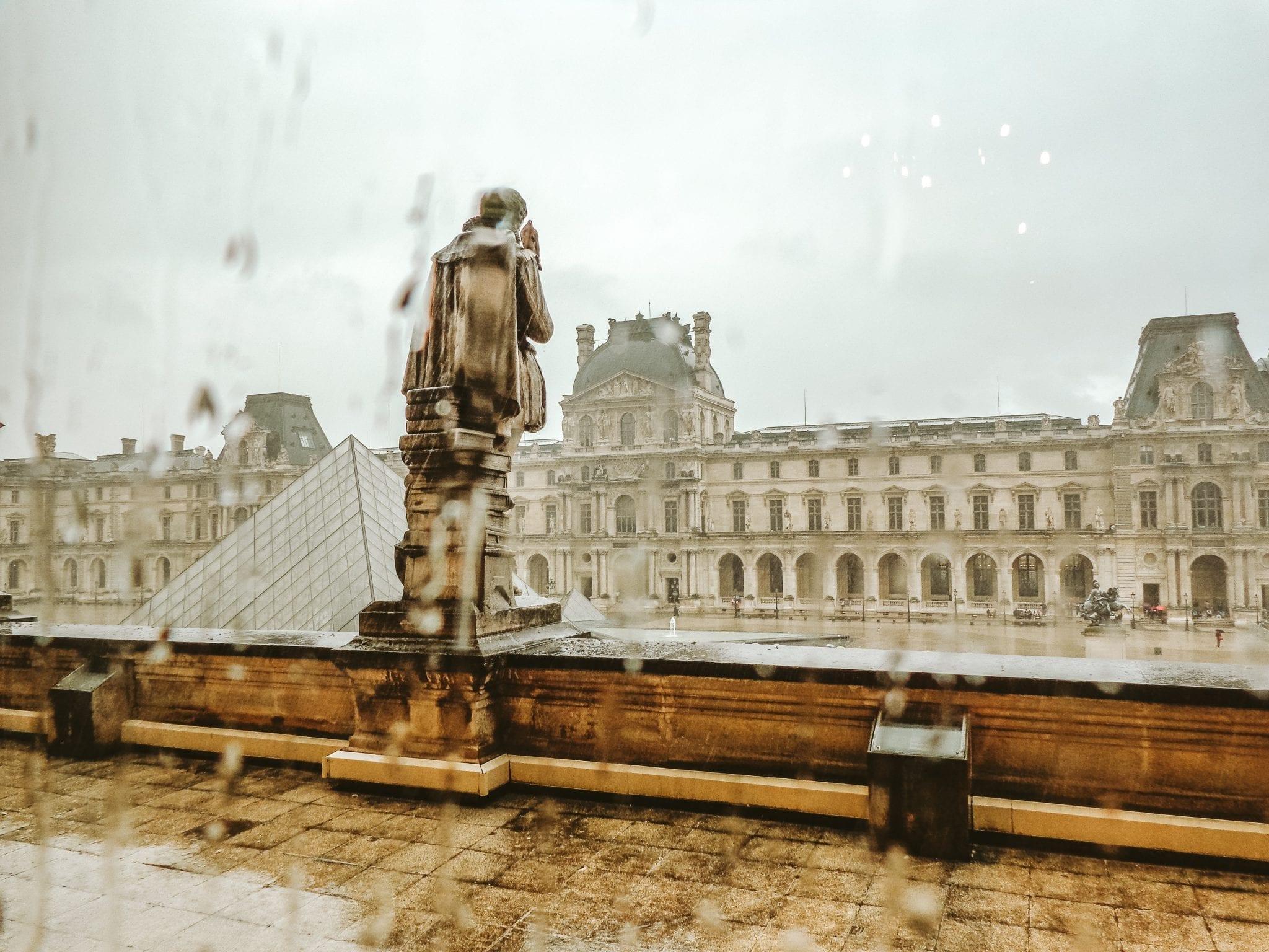 paris louvre Pack Light for Europe in Summer