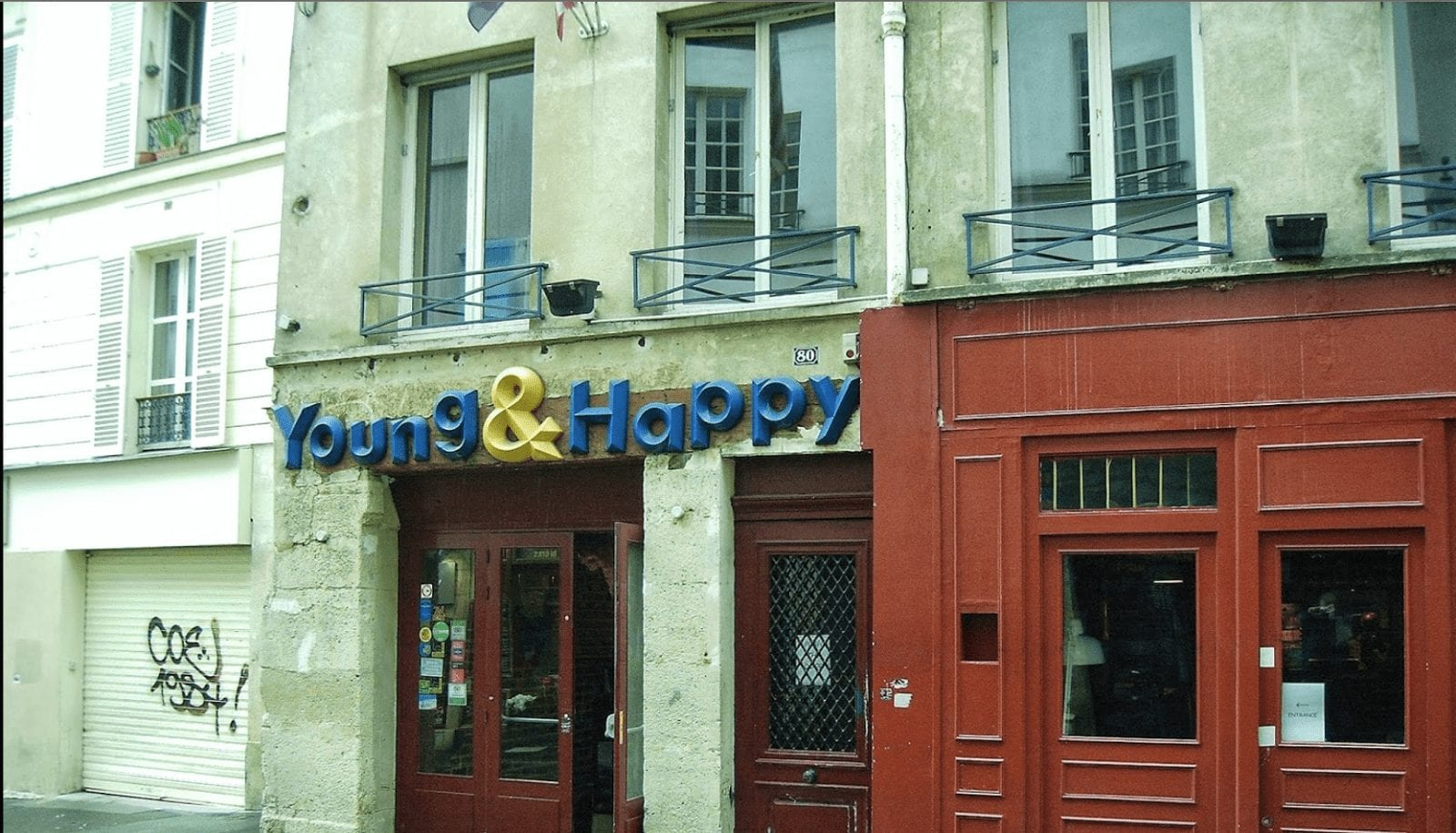 young and happy paris