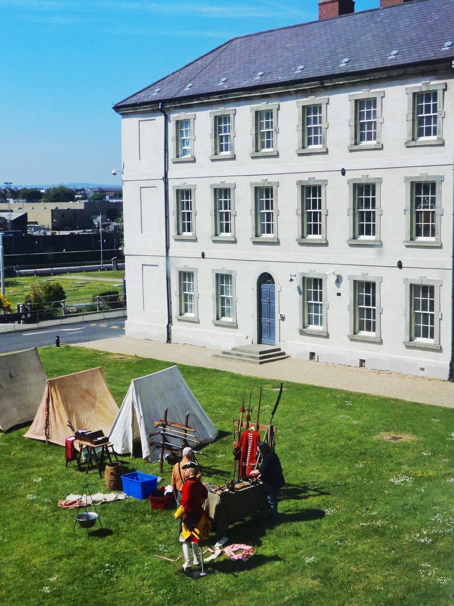 national museum dublin reenactment