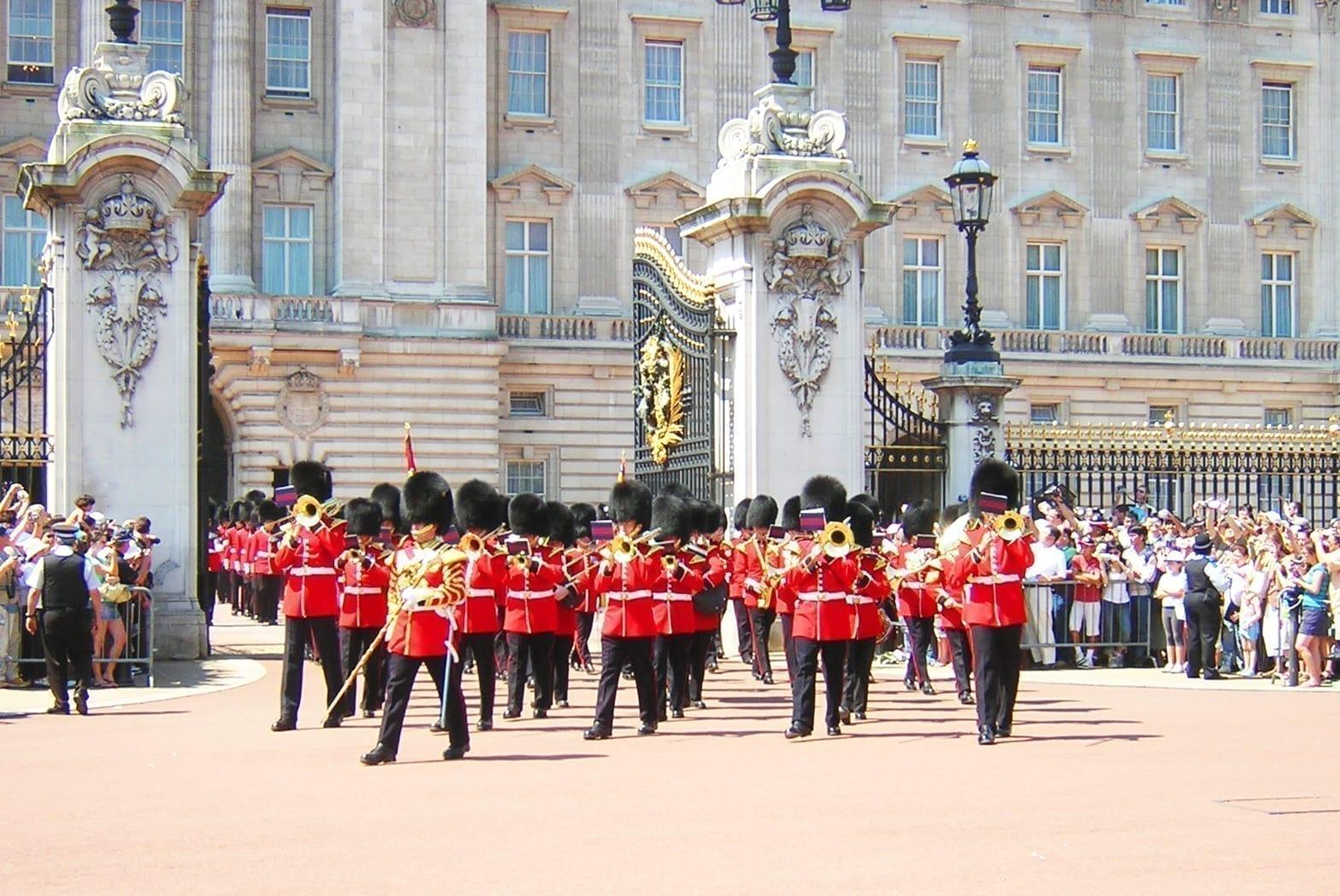 buckingham palace London england