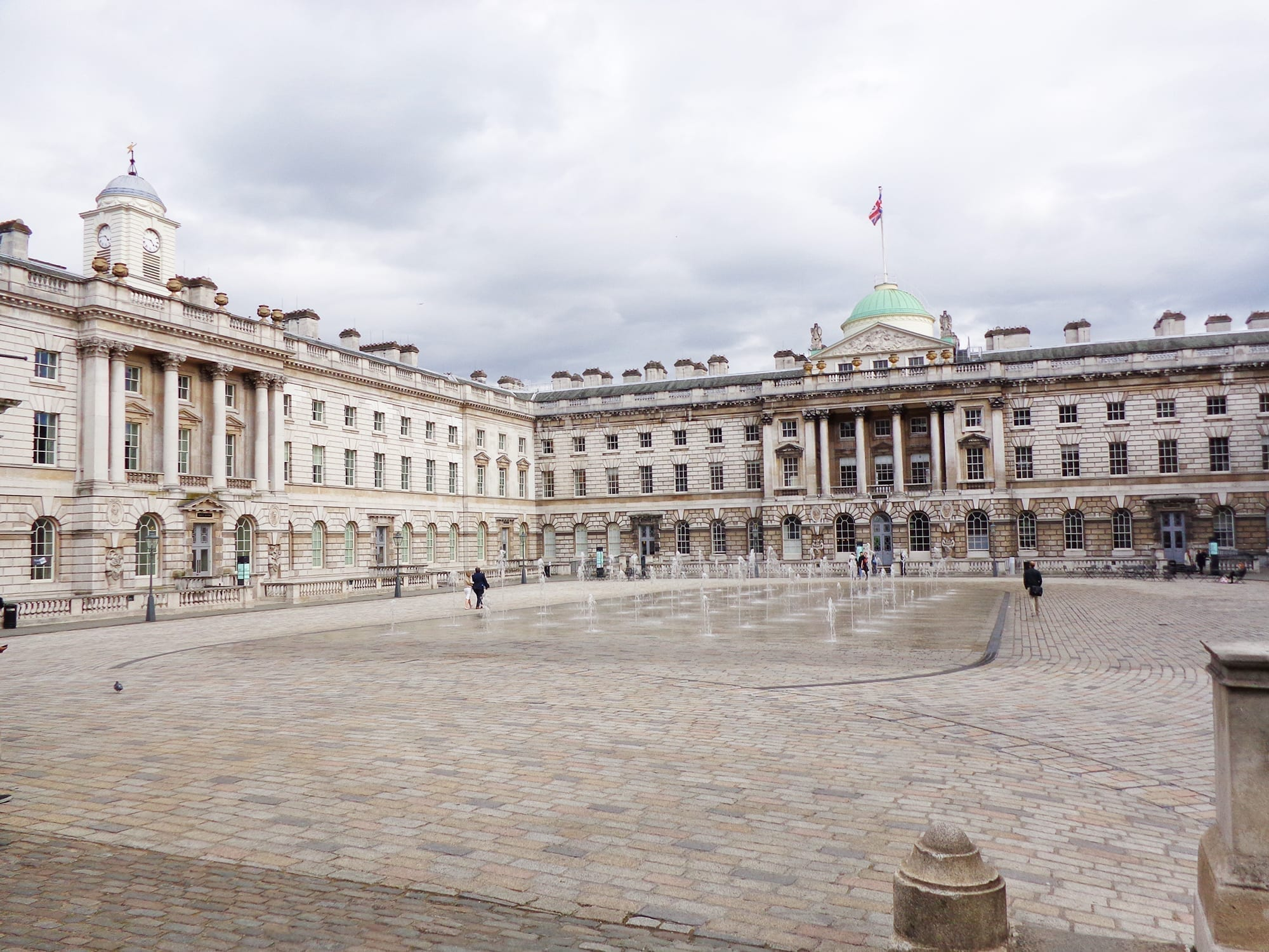 Somerset House on the Strand london