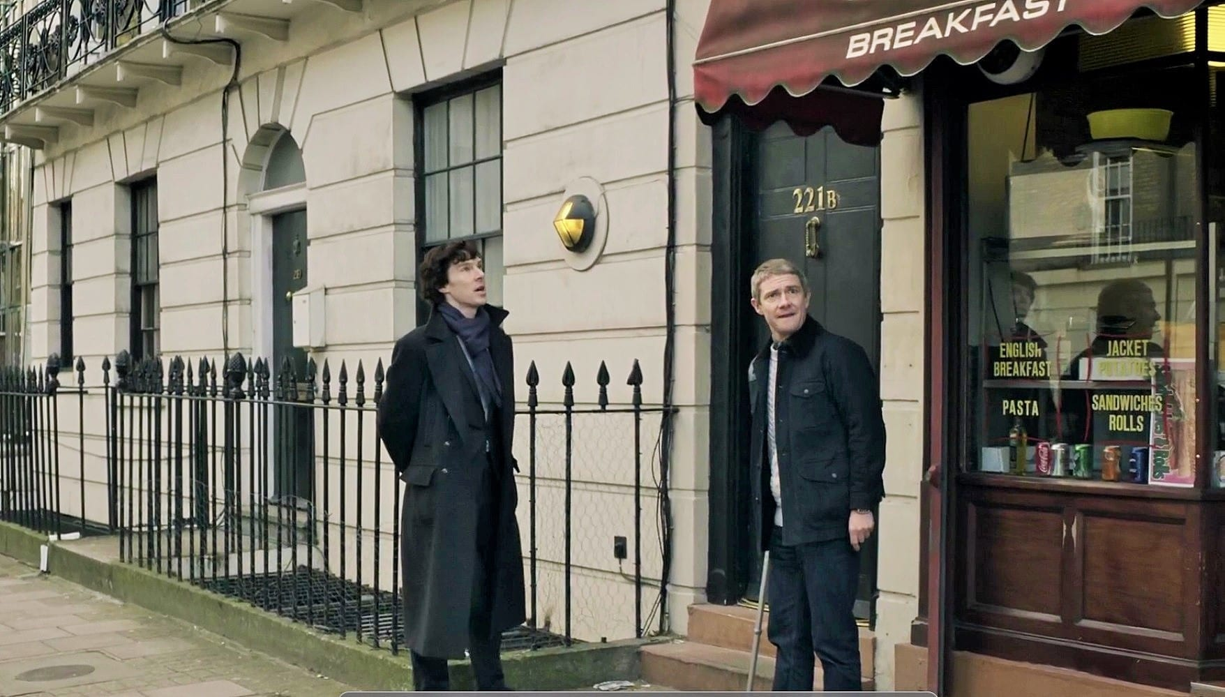 sherlock filming location
