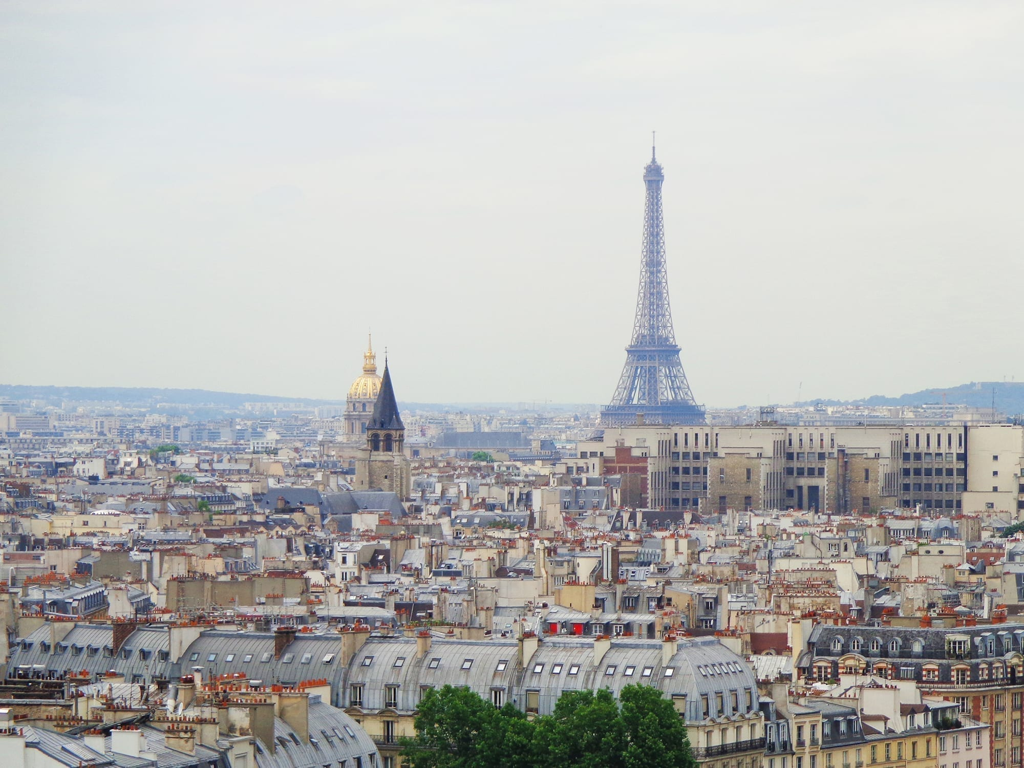 paris trip itinerary