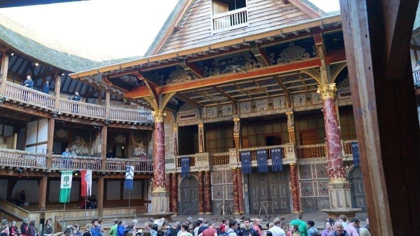 Shakespeare Globe Tickets stage london