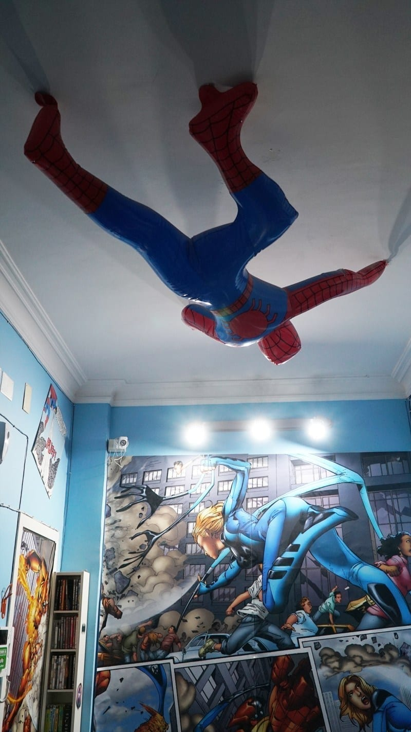 Comics Guesthouse spiderman