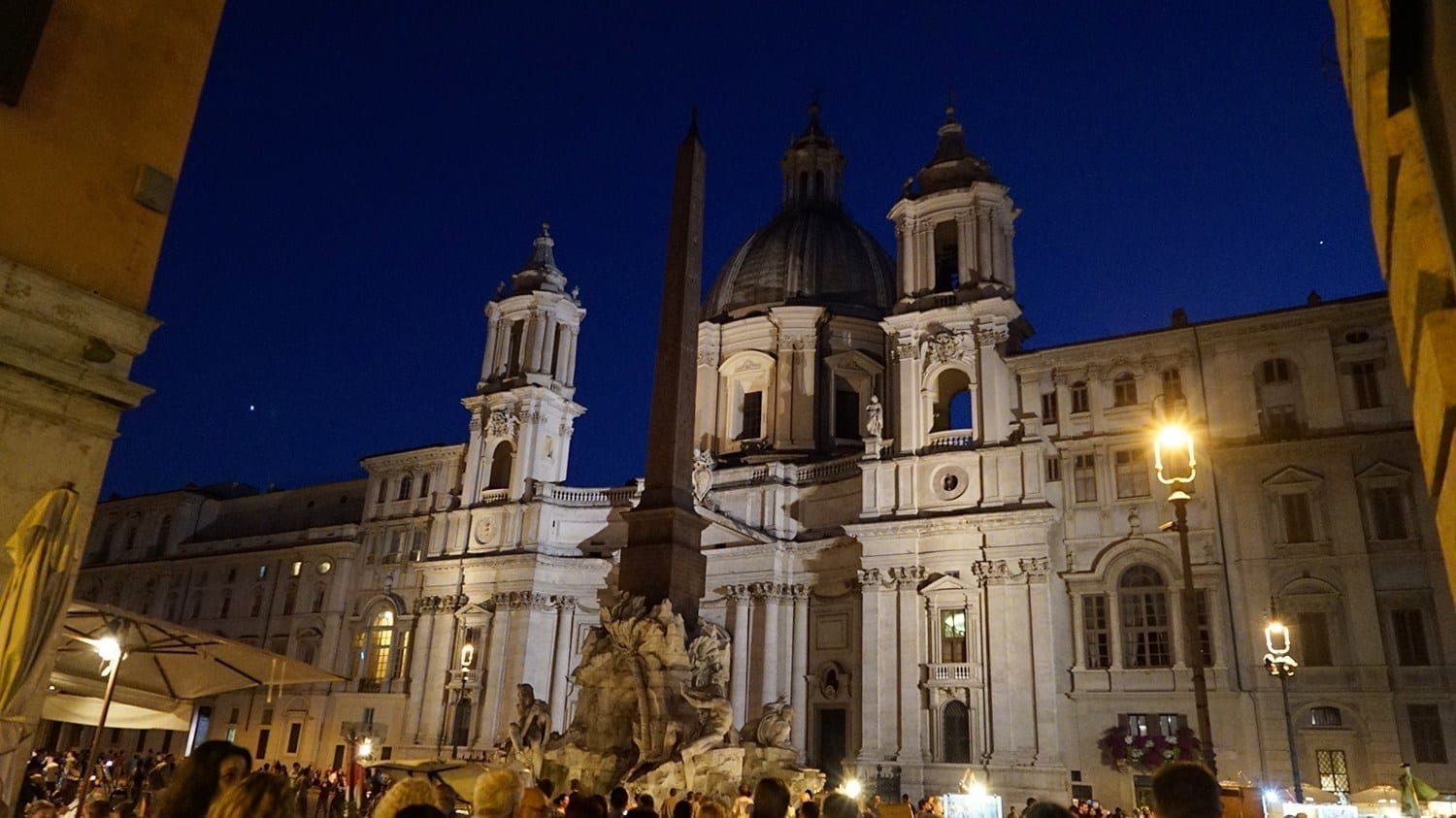 Piazza Navona places to visit in rome at night