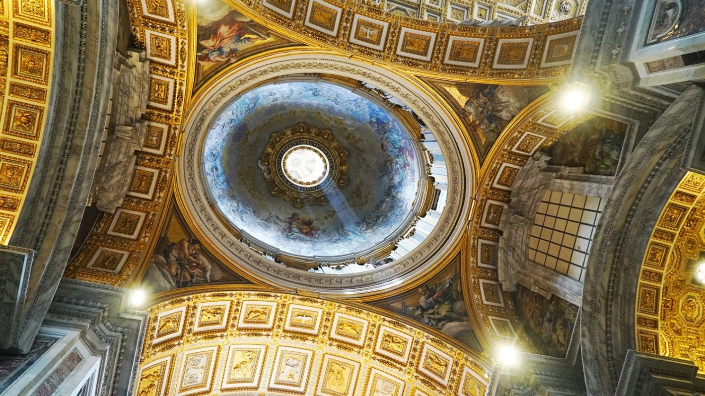 visiting st peter's basilica