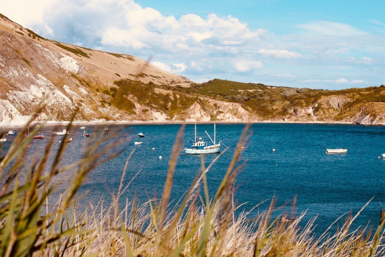 The British coastline