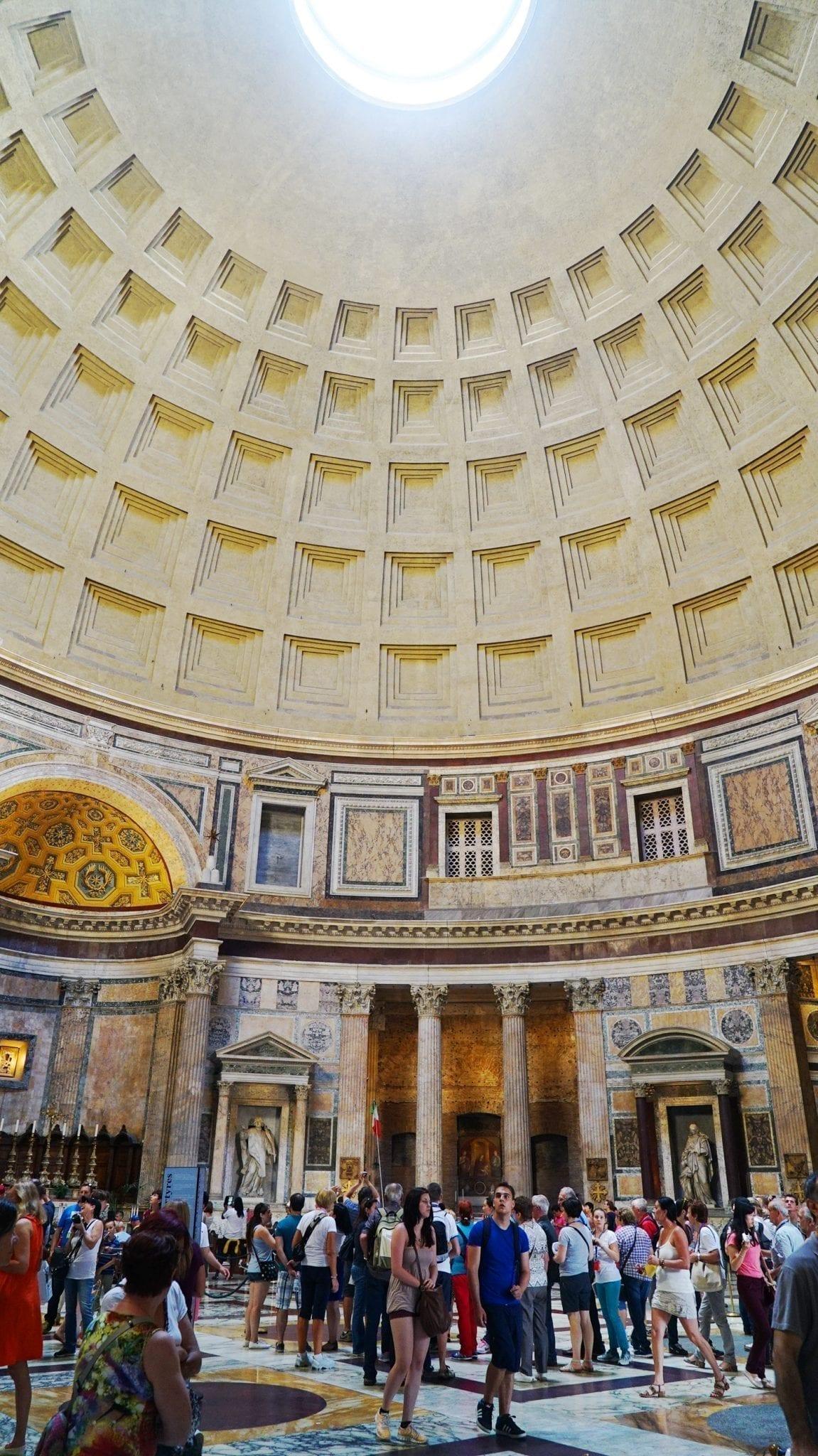 pantheon top
