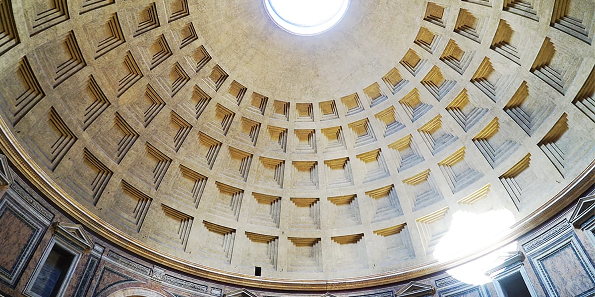 Visiting the Roman Pantheon