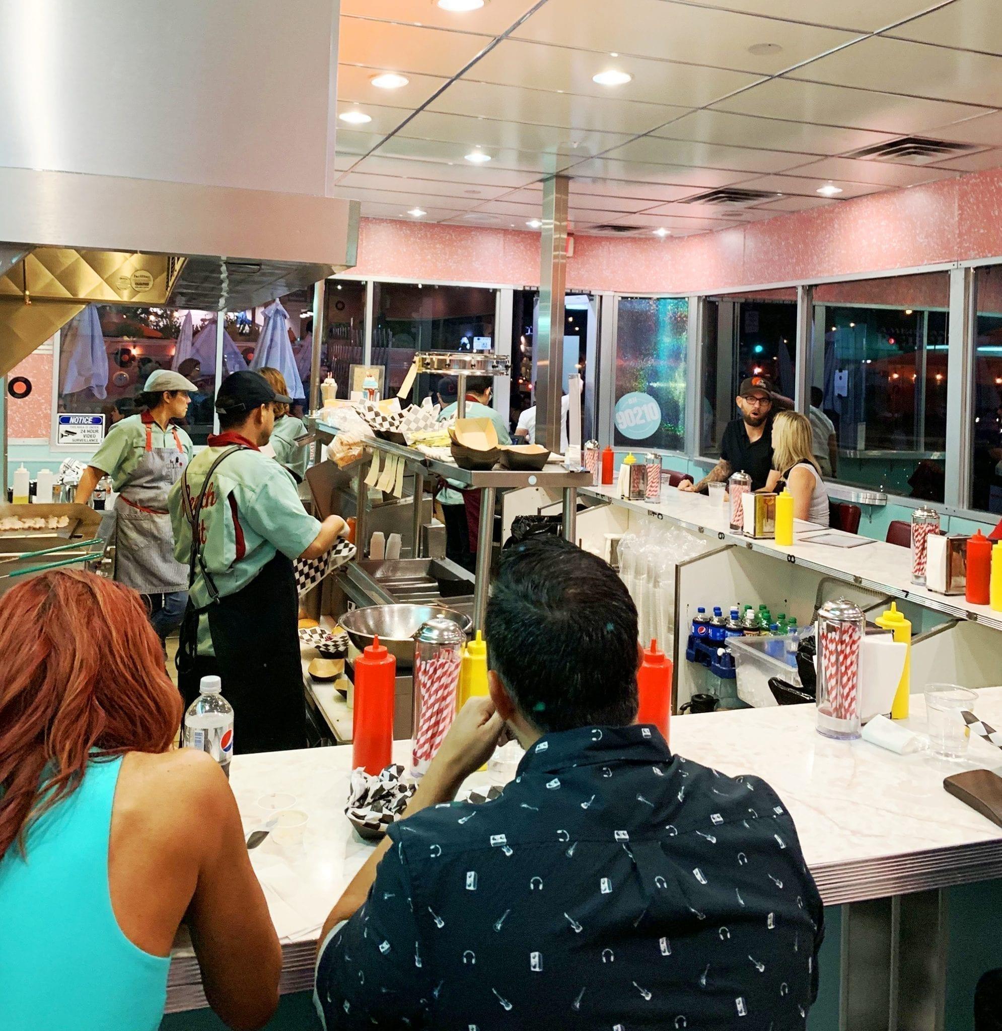 Peach Pit 90210 bar