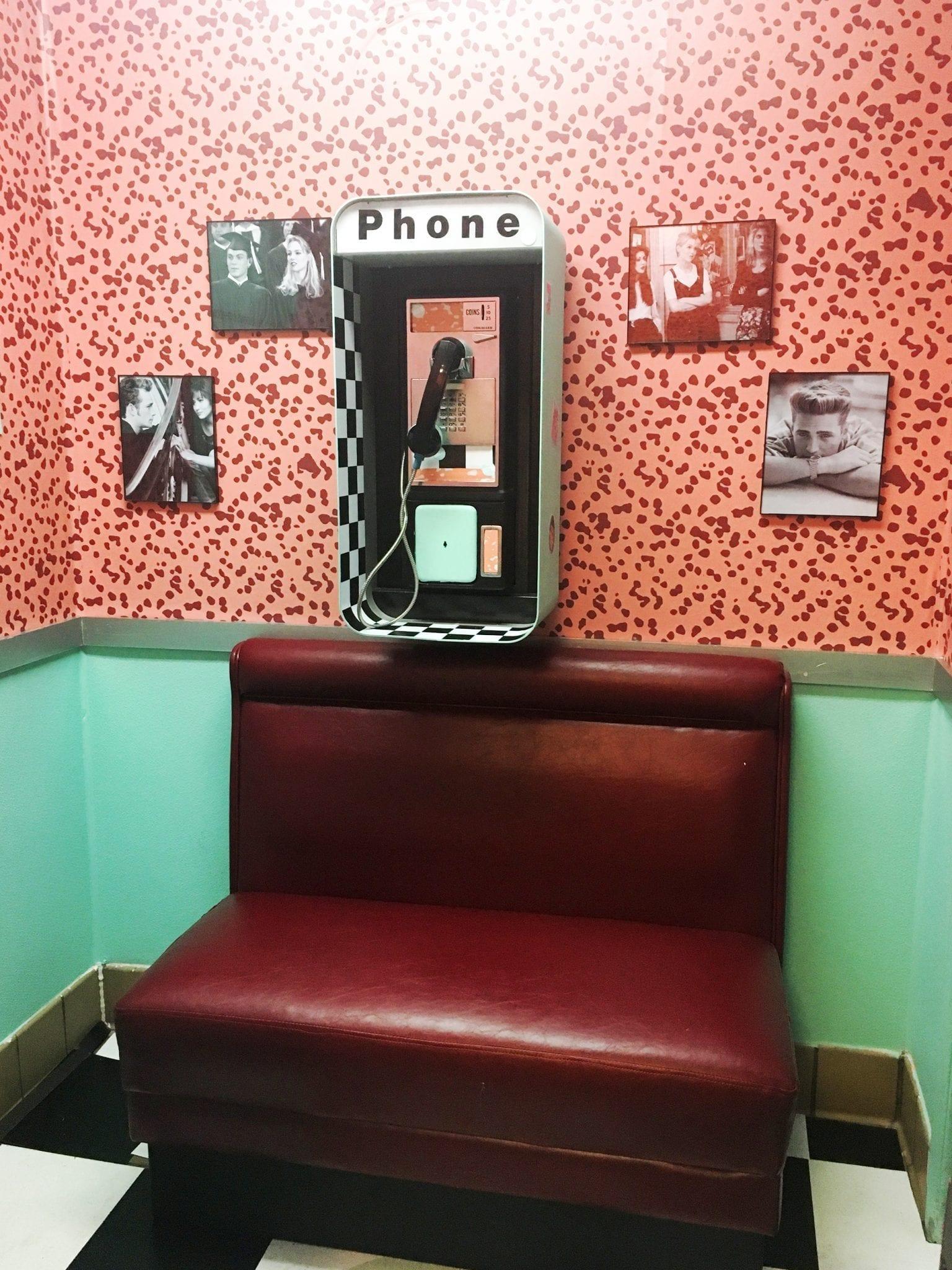 peach pit phone booth