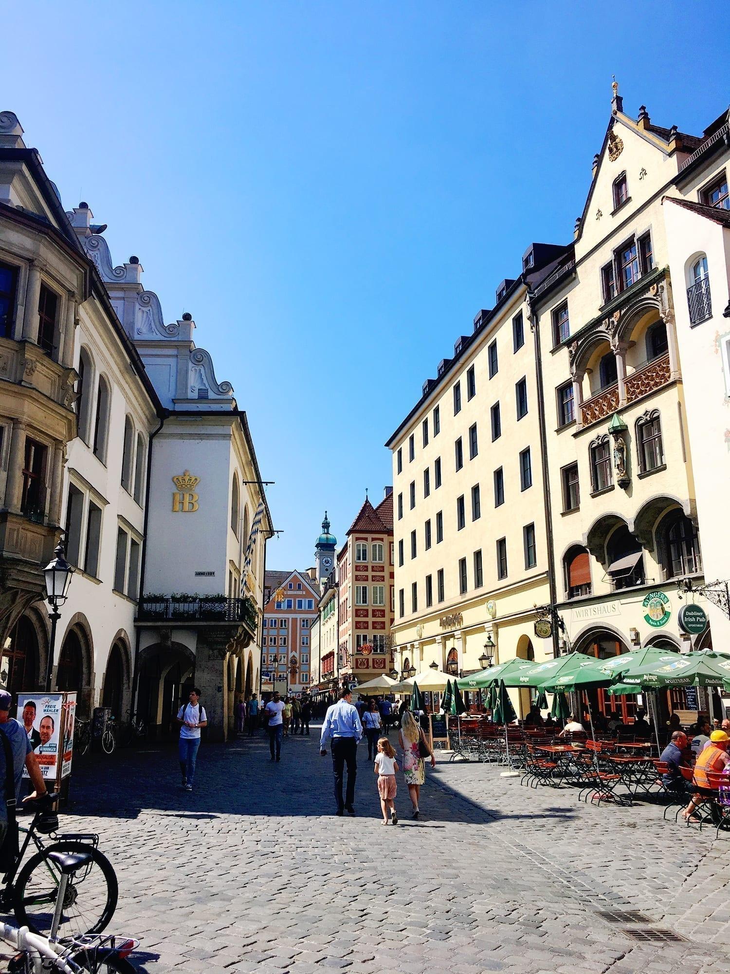 munich old town walking tour
