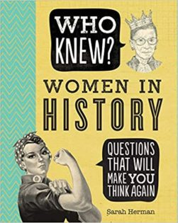 who knew? women in history book